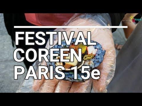 2ème FESTIVAL COREEN DE PARIS 15e (300917) : Streetfood, Calligraphie, Taekwondo, Kpop etc.