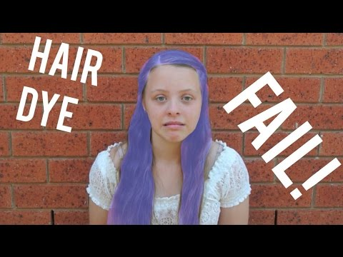 Dying My Hair With Kool Aid FAIL!