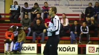 «Динамо» (Астрахань) - «Сунгуль» (Снежинск) 2-й тайм 14 октября 2015