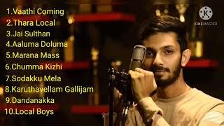 Anirudh Marana Mass Kuthu songs.
