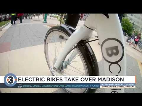 Taking Madion B Cycle For Free Trial >> Madison Becomes First City In Us To Have Full Set Of Bcycle E Bikes