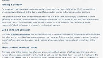 Online Casino for Mac - Playing Blackjack on a MAC by BonusBlackjack.org