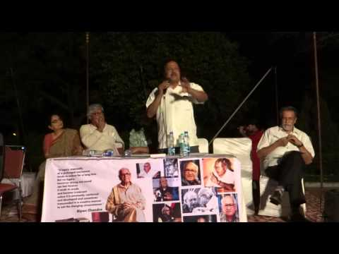Prof. Ajay Patnaik speaks  at Public Meeting to protest attack on Bipan Chandra