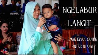 Download lagu TAK DISANGKA EMAK EMAK INI PINTER NYANYI NGELABUR LANGIT COVER MP3
