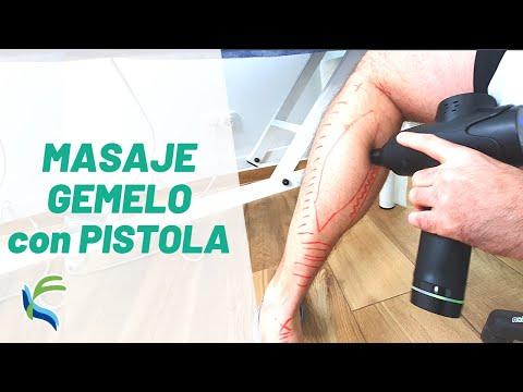 MASAJE de GEMELO con pistola de masaje | Fisiolution
