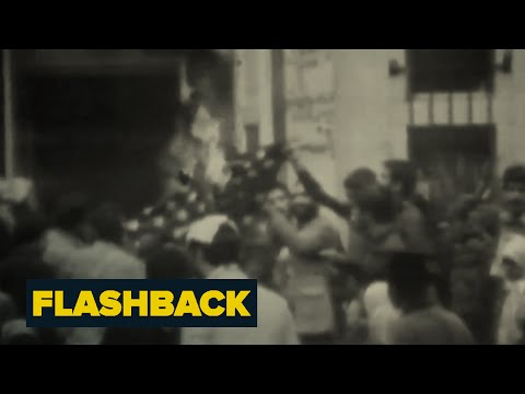 Iranians Storm U.S. Embassy In Tehran | Flashback | NBC News