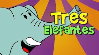 tres elefantes se balanceaban (canción infantil) thumbnail