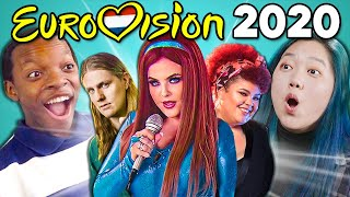 Adults React To Eurovision Song Contest 2020