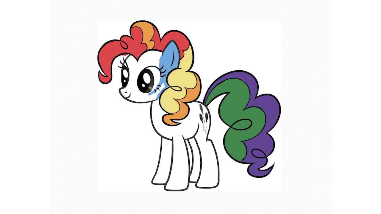 My Little Pony Boyama My Little Pony Boyama Videosu Youtube