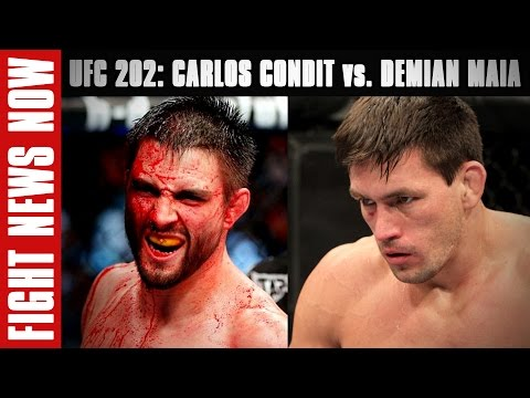 Carlos Condit-Demian Maia, Donald Cerrone-Rick Story Added to UFC 202 on Fight News Now