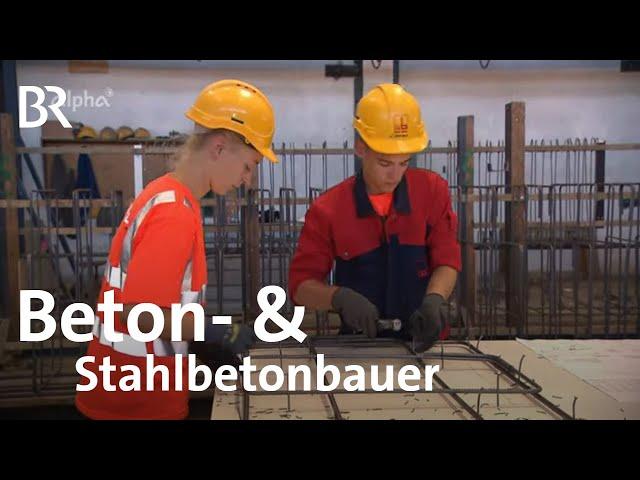 Beton- und Stahlbetonbauer*in   Ausbildung   Beruf   Ich mach's   BR