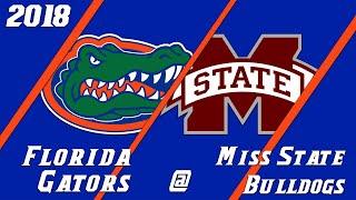 18.5 Florida Gators vs Mississippi State Condensed