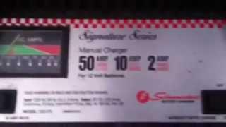 Schumacher battery charger signature series
