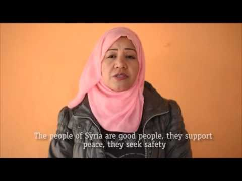 Syrian refugee message of solidarity after the Paris Attacks