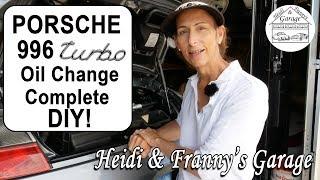 Porsche 911 (996) Turbo Oil Change DIY!