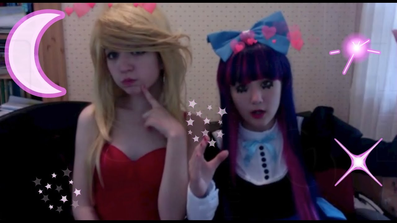 Panty And Stocking Cosplay Panty Predicament Youtube