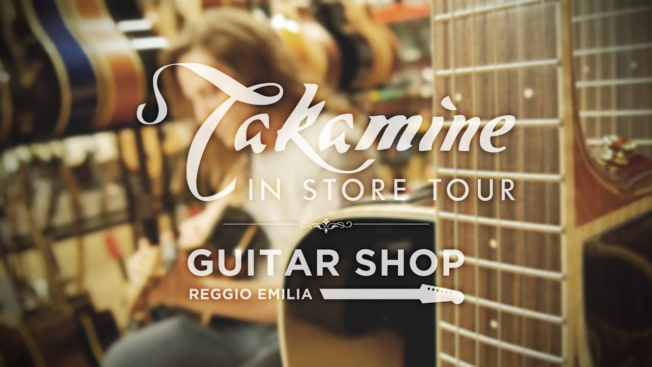 TAKAMINE IN STORE TOUR