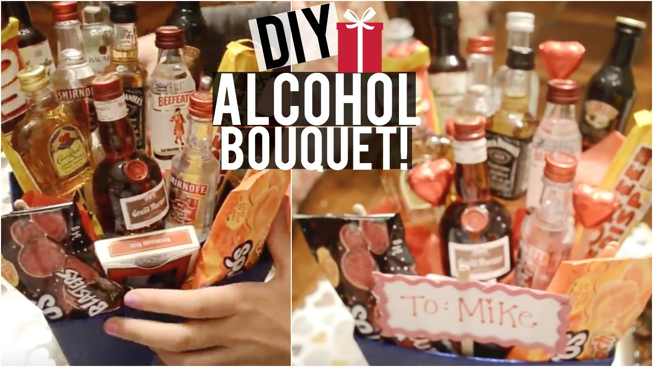Diy Alcohol Bouquet Candy Bouquet Candy Board More Diy