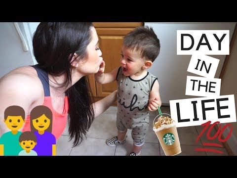 DAY IN THE LIFE OF A SAHM WITH A TODDLER!