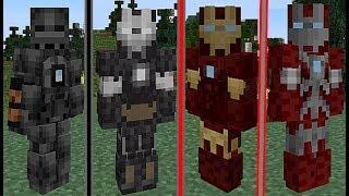 Minecraft Süper Kahraman MOD IRON MAN