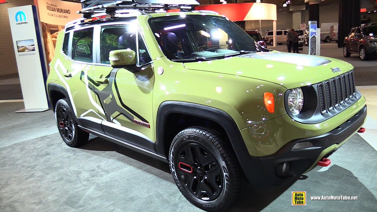 2015 Jeep Renegade Mopar Customized - Exterior Walkaround ...