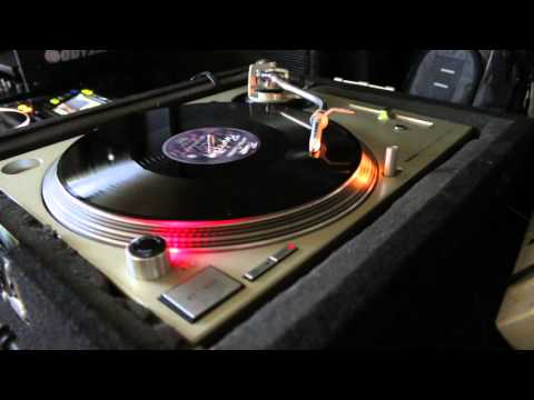 Prince Purple Rain tribute on Technics SL1200 M3D Turntable