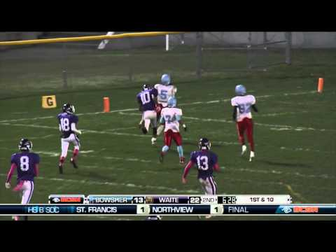 Bowsher at Waite High School Football