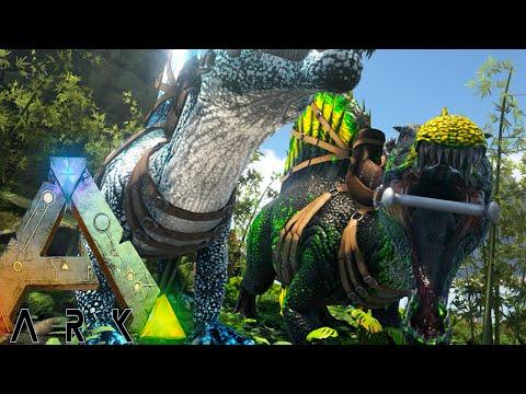Ark Survival Evolved - MIXING BADASS BREEDING TESTING - Modded Survival Ep54 (Ark Gameplay)
