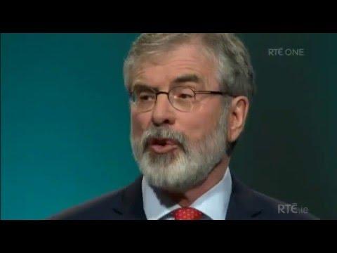 Gerry Adams Sinn Fein Ard Fheis 2016