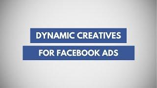 كيفية إنشاء ديناميكية Facebook الإعلانات الإبداعية | الآلي إنشاء الإعلانات