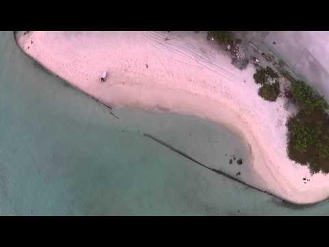Gulhi Island Maldives Drones Eye View