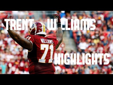 "Trent Williams Highlights || ""Silverback"" ᴴᴰ  