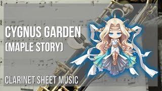 EASY Clarinet Sheet Music: How to play Cygnus Garden (Maple Story) by Studio EIM