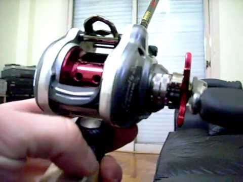 1c6bdec3a46 reel daiwa megaforce - YouTube