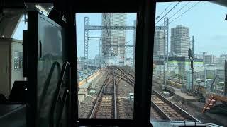 東京メトロ日比谷線03系前面展望三ノ輪→北千住
