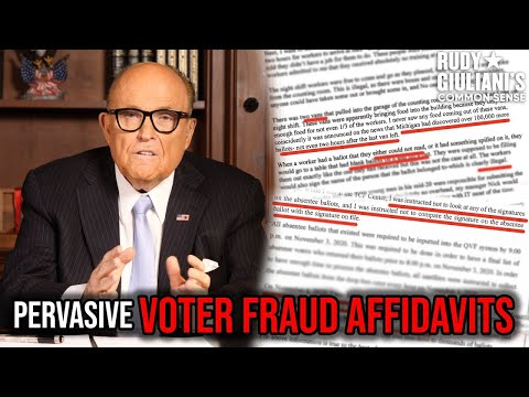 Giuliani Claims Voter Fraud In PA Court, Illegal Immigrants Cry No Covid Aid & Underground Tunne