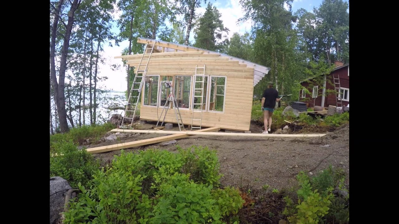 Summer Kitchen - building of - YouTube