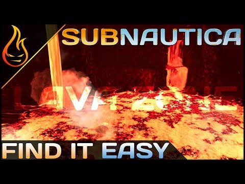 How To Find The Entrance to The Lost River & Inactive Lava Zone Easy | 5 Min Subnautica