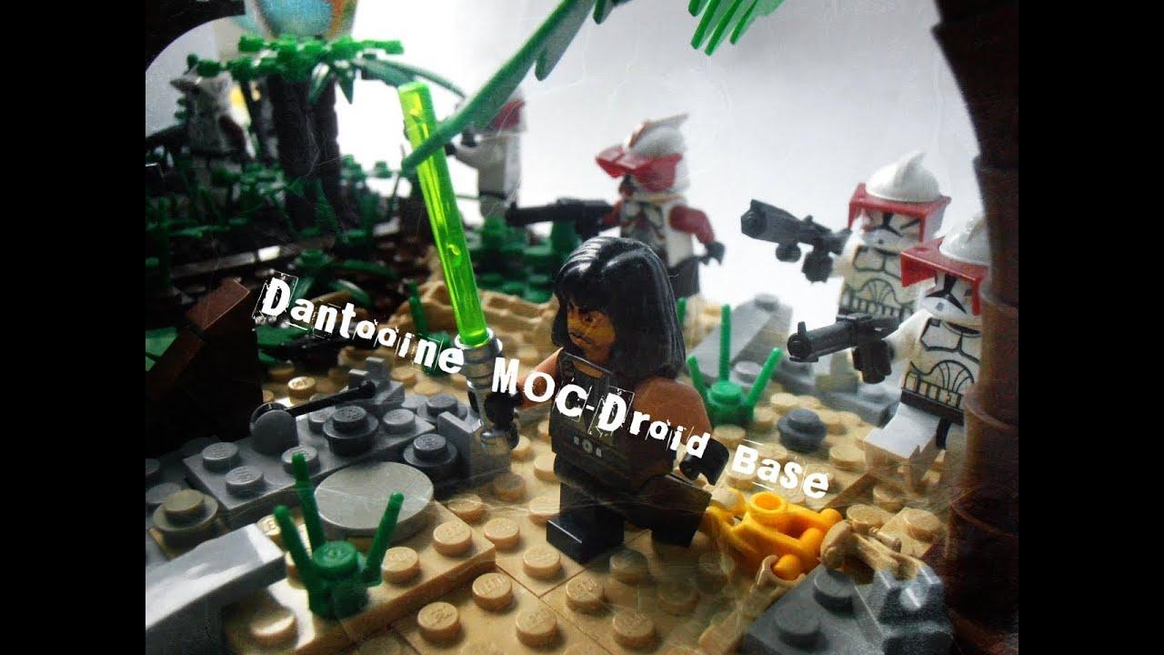 Lego star wars moc dantooine droid base youtube - Lego star wars base droide ...