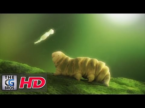 "CGI 3D Animated Short: ""Tardigradia – The Wild Little World"" - by (IMA) Industrial Motion Art"
