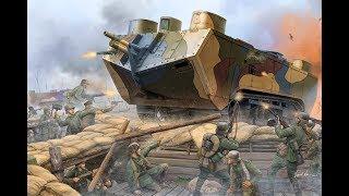 How to build a WW1 Saint-Chamond in minecraft/Heavy Tank Tutorial