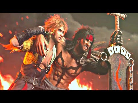 Dissidia FF NT - Final Battle Cinematic Cutscene (English) PS4 Pro