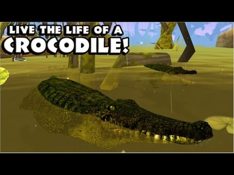 Nile Crocodile: Wildlife Simulator  - iPad,iPhone 3GS,4,4S,5,5c,5s,iOS 4.0