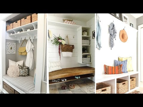 10 DIY Project Ideas for Mudroom