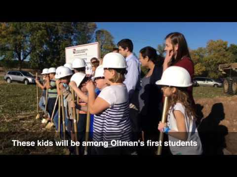 Groundbreaking at future Oltman Middle School