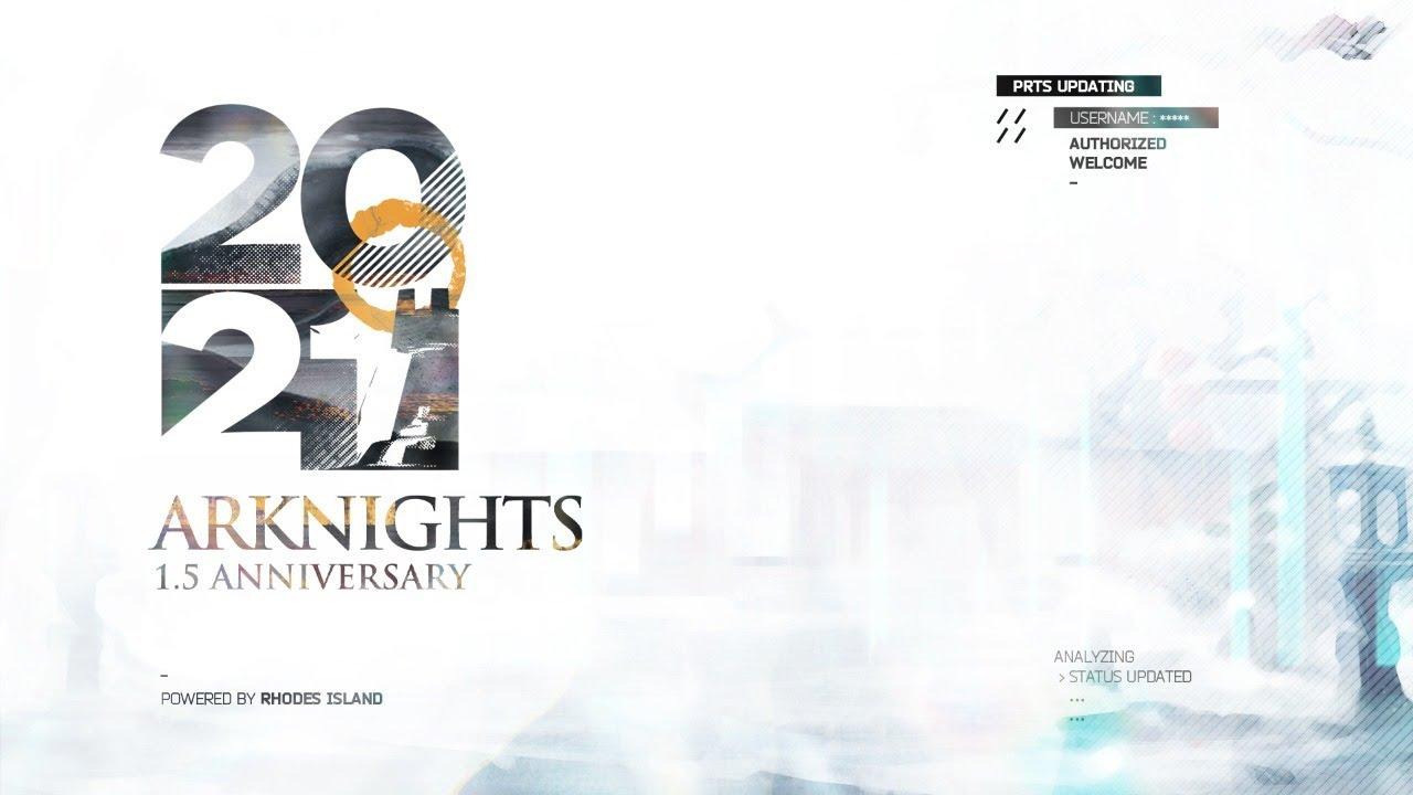 Arknights 1.5 Anniversary Live Stream