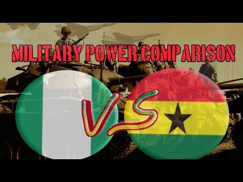 Nigeria VS Ghana: Military POWER Comparison 2021