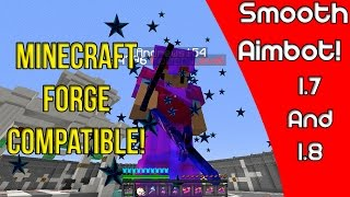 Minecraft Smooth Aimbot Hack (Free Download in Description!) 2016