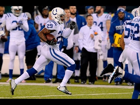 Mike Adams Returns Interception to the 5 Yard Line || Week 13 Colts at Jets