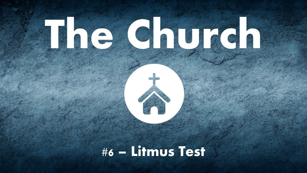 The Church #6 - Litmus Test